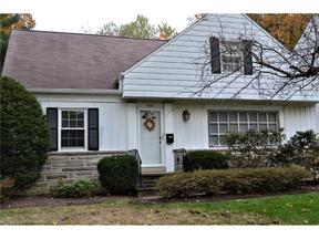 Property for sale at 1663 Oakmount Rd, South Euclid,  OH 44121